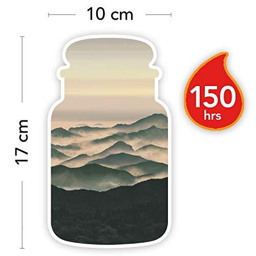 Yankee Candle Candela profumata in giara grande   Montagne Nebbiose   Durata Fino a 150 Ore
