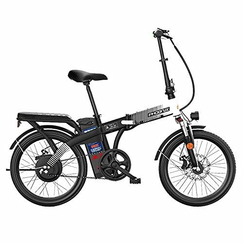 ZOSUO Adulto Bicicleta Plegable 26 Rueda De Radios Bicicleta Electrica E-Bike De...