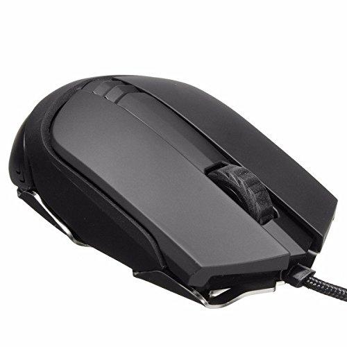 Tutoy James Donkey 125M 5000Dpi 6 Botones USB con Cable Optical Gaming Mouse para Pc Portátil Jugadores
