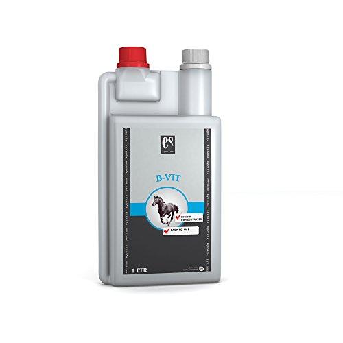 equsana B de Vit Vitamin concentrado para caballos Cambio de piel o Después de una Forro Transición, 1L)