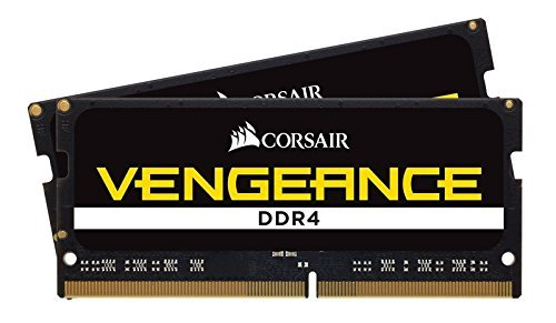 Corsair CMSX32GX4M2A2400C16 Vengeance 32GB (2x16GB) 260-Pin SO-DIMM ddr4 2400 (PC4 19200)...