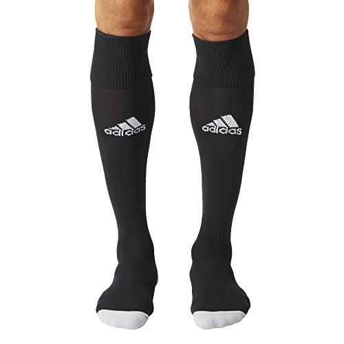 adidas Milano 16 Sock - Medias para hombre, multicolor ( NEGRO / BLANCO), talla 43-45 EU, 1 par