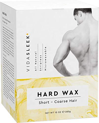 Full Body Hard Wax: For Short, Coarse Hairs – Men & Women (10 oz)