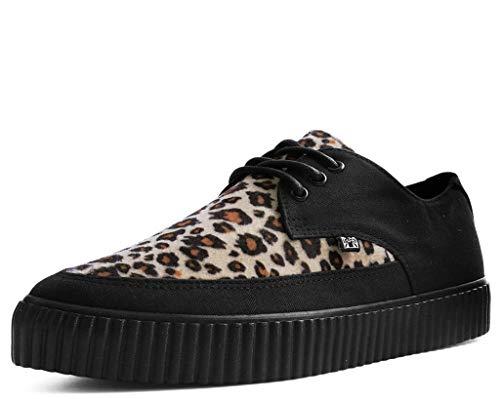 T.U.K. Shoes Herren Damen Faux Leoparden Fell Spitzen Schlingpflanze Sneaker EU43 / UKM9