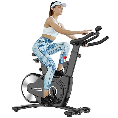 pooboo Exercise Bike Indoor Cycling Bike Magnetic Stationary Bike for Home Use with...