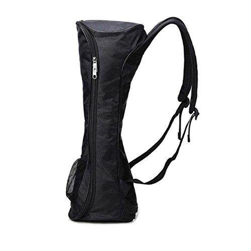 JER Hoverboard Bag Scooter Rucksack Rucksack wasserdicht langlebig modische Tasche für 16,5cm und Zwei selbstbalancierende Rollen schwarz Artikel für Sport