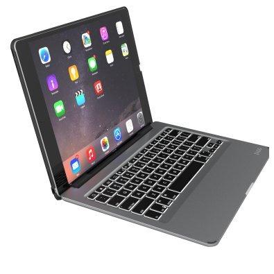 ZAGG Slim Book Keyboard Folio for Apple 9.7-Inch iPad Pro, iPad Air 2 and iPad Air - Black