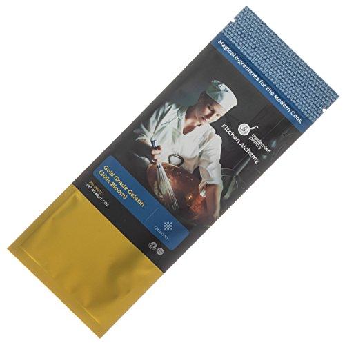 Modernist Pantry - Gold Gelatin Sheets - 200 Bloom - 20 Sheets