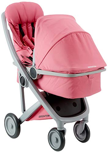 Greentom A+B+C+D grey-pink-V16 Unisex Buggy Sessel