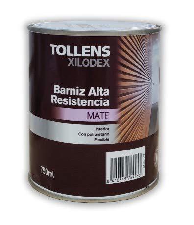 TOLLENS - BARNIZ ALTA RESISTENCIA MATE INTERIOR 750 ML - Iroko de Tanzania 513