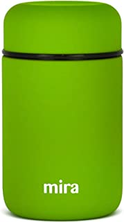 MIRA Lunch, Food Jar | Vacuum Insulated Stainless Steel Lunch Thermos | 13.5 oz | Cactus Green