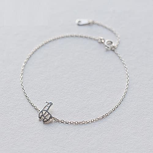 N/A S925 Pulsera de Plata Pulsera de patrón Dulce Sensual Femenino Joyería de Mano de Animal pequeñoAniversario Día de la Boda Navidad Día de la Madre Regalo de cumpleaños.