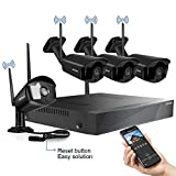 [2020 update] Security Camera System Wireless JOOAN 8-Channel HD 1080P NVR with 4Pcs