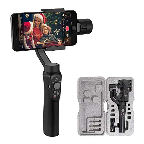 CINEPEER C11 Gimbal Power Stabilizer by Zhiyun 3 Axis Gimbal portátil para iPhone Huawe Samsung Smartphone Phone