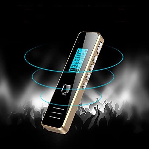 Digitale spraakrecorder 8GB-dictafoon Met MP3-speler Spy Recorder Voice Activated Recorder Ruis oplaadbare reductie…