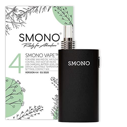 Smono Vape 4 Version 2020 Vaporizer - Auslaufversion - Verdampfer Kräuter Öle - kein Nikotin