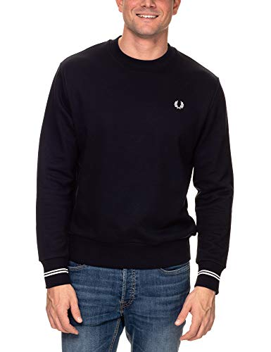 Fred Perry Crew Neck Sweatshirt, Sudadera