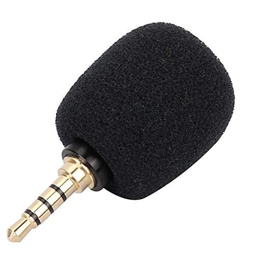 VBESTLIFE EY-620AHandy Microfoon, externe microfoon, mini draagbare microfoon voor mobiele telefoons, tablets, opnamestiften, spiegelreflexcamera's etc, 3,5 vierpolige single-line