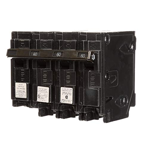 Siemens q36000s01240-volt tipo mp-t 60Amp viaje de derivación de interruptor de circuito con 120-volt tres Pole