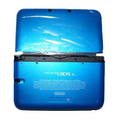 Nintendo 3DS XL Gehäuse Blau Shell Housing Ersatzgehäuse neu