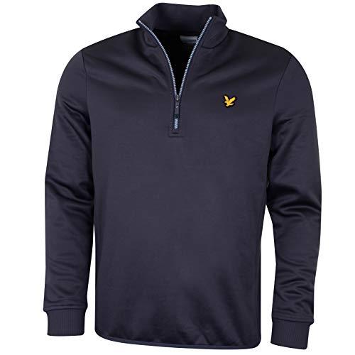 Lyle & Scott - Golf-Pullover & -Sweatshirts für Herren in Z485 Thunder Grey, Größe M