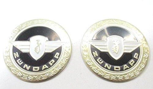 2 x Tank Aufkleber Sticker Emblem Plakette - Zündapp GTS KS CS Ø= 64mm #30