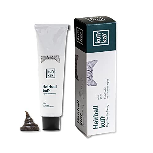 KUNKAY Hairballkun Gatos - 100 g | Suplemento para Las Bolas de Pelo (lubricante y Reduce la muda)