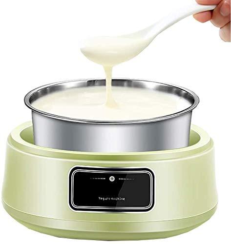 ZXL Macchina per Lo Yogurt, Macchina per la Produzione di Panna Automatica Prepara deliziosi Gelati, Yogurt e Sorbetto Macchina Quart Freezer Bowl