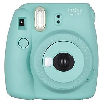 Fujifilm Instax Mini 8+  Mint  Instant Film Camera + Self Shot Mirror for Selfie Use - International Version  No Warranty