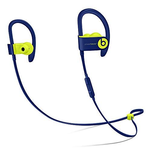 Beats by Dr Dre Powerbeats3 Wireless in-Ear Bluetooth Headphone with Mic - Beats Pop Collection- Pop Indigo(Renewed)