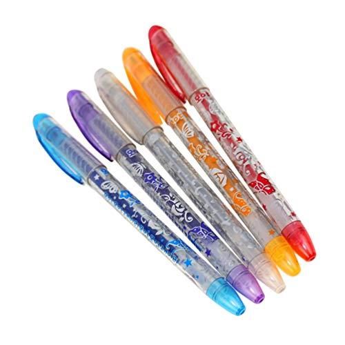 Mouchao 6 Stücke Kinder DIY Tattoo Stifte Handdrawing Tattoo Gelschreiber Neuheit Kinderspielzeug