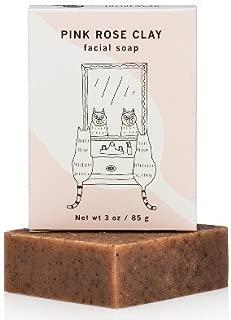 Meow Meow Tweet Pink Rose Clay Facial Soap - 2.5oz