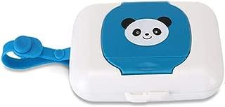 Ogquaton Beb/é Premium toallitas dispensador caja viaje port/átil de tejido h/úmedo caja panda blanco