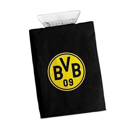 Borussia Dortmund ijskrabber met handschoen, ijskrabber, schijfkrabber BVB 09 - Plus bladwijzer I Love Dortmund