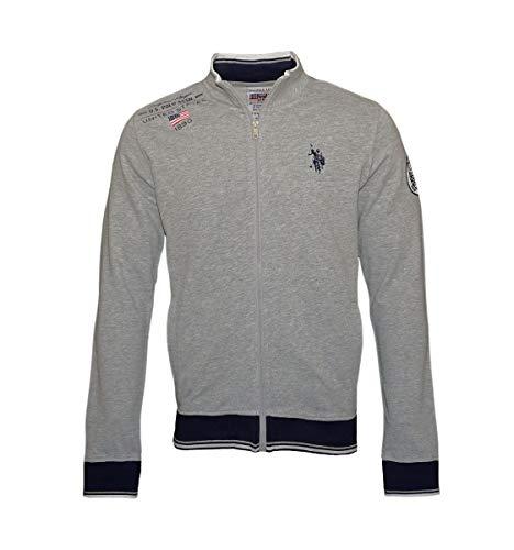U.S. Polo ASSN. Sweatjacke Sweat Jacket 187 51114 52328 188 grau WX18-USJ1 Größe XL