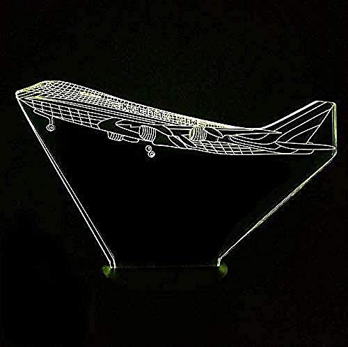 3D Illusie Lamp Cargo Vliegtuig Volwassen Gift Decoratie