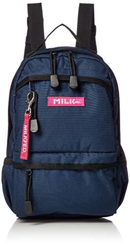 [ミルクフェド] BACK PACK BAR MINI 3192049 NAVY One Size