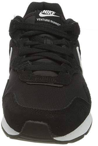 NIKE White Black, Sneaker Mujer, 39 EU