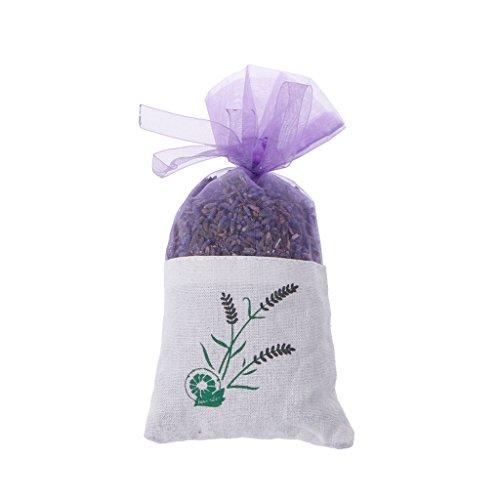Fafalloagrron Sachet de fleurs séchées de lavande naturelle, aromathérapie, rafraîchissement de l'air aromatique.