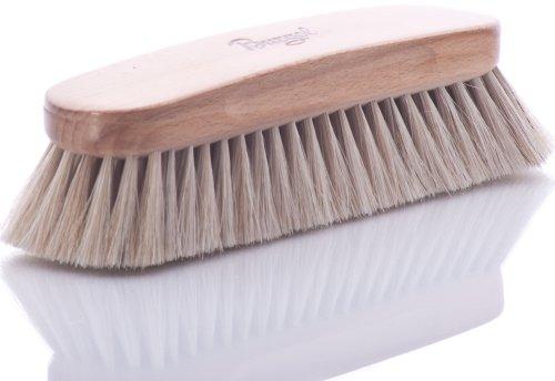 Burgol Burgol Rosshaar-Polierbürste, hell, 30 mm Haarlänge, Handeinzug