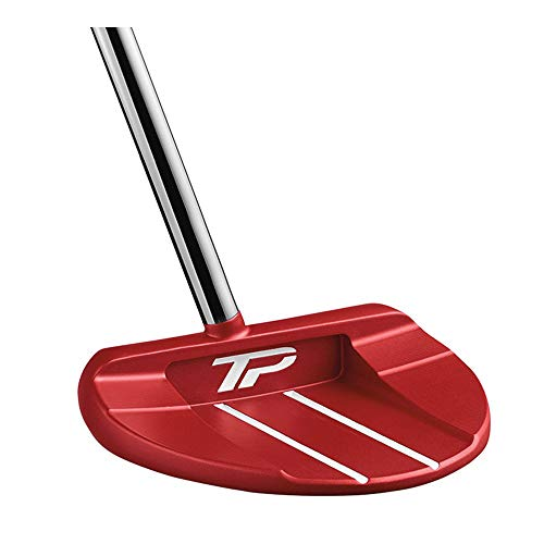 TaylorMade Golf Tour Preferred Red Collection Ardmore #7 Center Offset Super Stroke 35 IN Putter, Right Hand