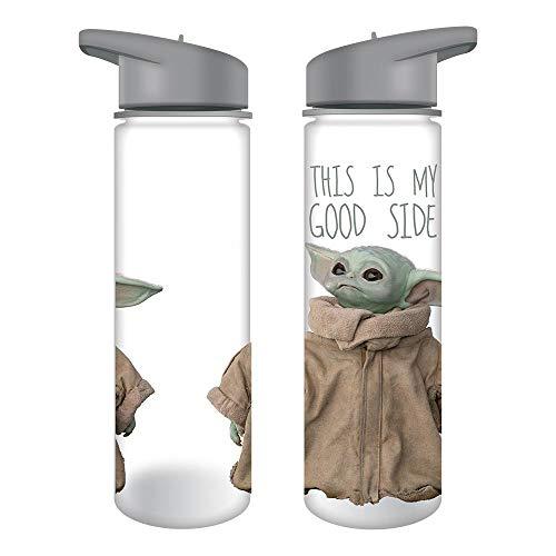Good Side Baby Yoda Mandalorian Tritan Botella de agua