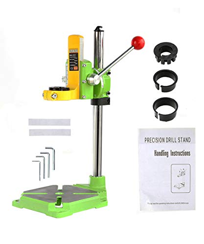 BEAMNOVA Drill Press Stand for Hand Drill Benchtop Industrial Kit Tool Holder 90 Degree Clamp Workbench Repair Tool
