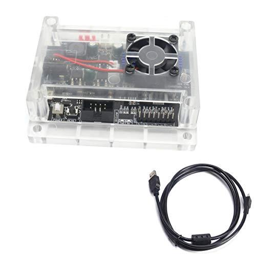 RATTMMOTOR Steuerplatine GRBL 1.1 USB Anschluss Control Board mit Lüfter und ABS-Gehäuse für 3 Achsen Fräs-/Graviermaschine CNC 1810-PRO/3018/3018-PRO