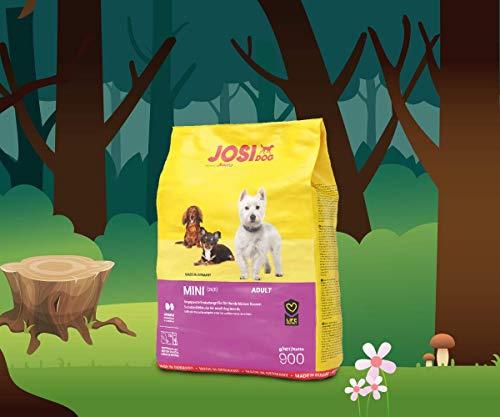 JosiDog Mini (900g) | Hundefutter für kleine Rassen | Premium Trockenfutter für ausgewachsene Hunde | powered by JOSERA | 1er Pack
