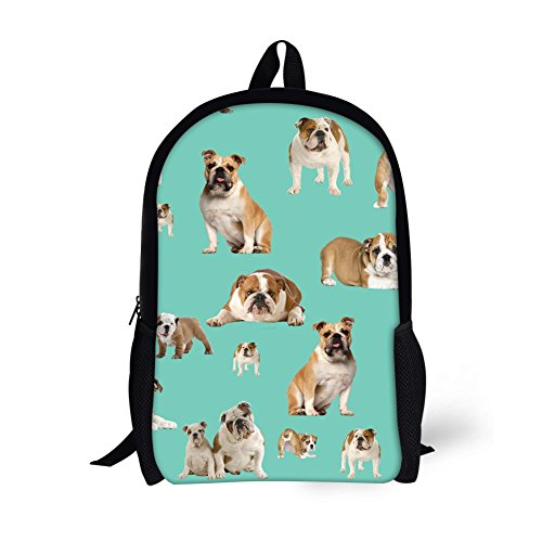 Backpack,Stylish Cute Pug Dogs Stylish College School Backpack Bookbag Casual Hiking Daypack Campus BackpackStylish and Durable