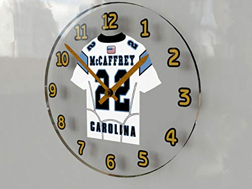 NFL National Football League Wanduhren–NFC South American Football Jersey Uhren–Jeder Name, beliebige, jedes Team Carolina Panthers