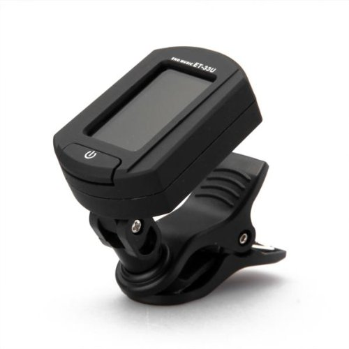 Foxpic eno ET-33U clip su digitale acustica elettrica Ukulele Chromatic Tuner