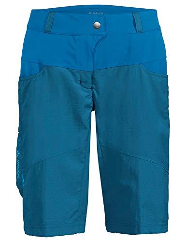 Vaude Damen Hose Women's Qimsa Shorts, Kingfisher, 40, 41923