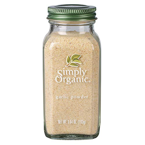 Simply Organic Garlic Powder, Certified Organic | 3.64 oz | Allium sativum L.